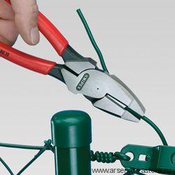 """Клещи с токоведущим кабелем """"Lineman's Pliers"""" (ПАССАТИЖИ универсальные """"американская модель"""") KNIPEX 09 12 240"""