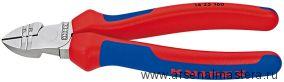 Кусачки боковые (БОКОРЕЗЫ 1000V) для удаления изоляции KNIPEX 14 25 160