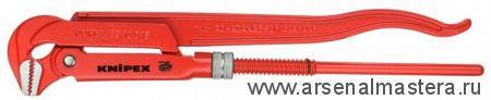 Клещи трубные (КЛЮЧ  ТРУБНЫЙ), губки наклонены под углом 90° KNIPEX 83 10 030