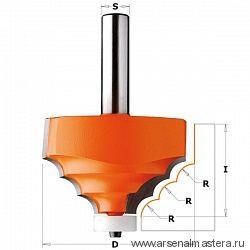 CMT 980.521.11 Фреза по искусственному камню мультипрофильная (нижн. подш.картридж) S=12 D=66,7x41,3 R=7,93