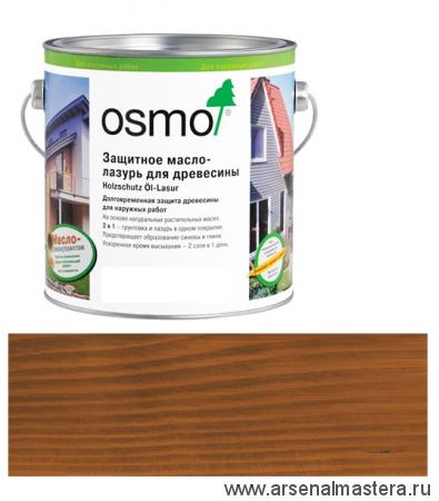 Защитное масло-лазурь для древесины Osmo Holzschutz Ol-Lasur 707 Орех 0,75 л