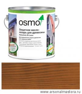 Защитное масло-лазурь для древесины Osmo Holzschutz Öl-Lasur 707 Орех 0,75 л