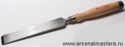 Английская плотницкая мощная стамеска Robert Sorby Framing Chisel 25 мм (1дюйм) длина 495 мм