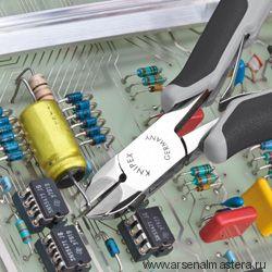 Кусачки боковые для электроники антистатические KNIPEX 77 02 120 H ESD