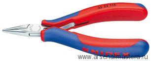 Плоскогубцы захватные для электроники (КЛЕЩИ для захвата и монтажа) KNIPEX 35 22 115