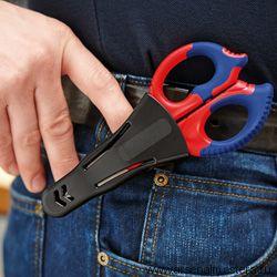Ножницы электрика (КАБЕЛЕРЕЗ) KNIPEX 95 05 155 SB