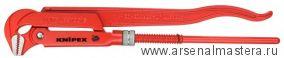 Клещи трубные (КЛЮЧ  ТРУБНЫЙ), губки наклонены под углом 90° KNIPEX 83 10 015