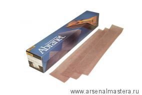 Шлифовальные полоски на сетчатой синтетической основе Mirka ABRANET 70x420мм Р100 в комплекте 50шт.