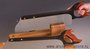 Пила обушковая для продольного пила Veritas Tenon Rip Saw 16д (406 мм) 9 tpi 05T14.01 М00008234
