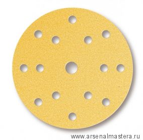 Шлифовальный круг на поролоновой основе Mirka GOLD SOFT 150 мм 15 отверстий P 320 в комплекте 20 шт