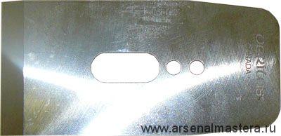 Нож для рубанков Veritas LA JackPlane & BevelUp, 57мм/А2/25° М00002325
