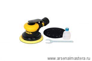 Шлифовальная пневматическая машинка для шлифования на всех типах поверхности MIRKA ROS 550CV 125 мм орбита 5 мм