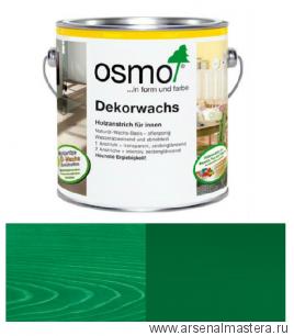 Масло цветное интенсив Osmo Dekorwachs Intensive Tone 3131 Зеленое 0,375 л