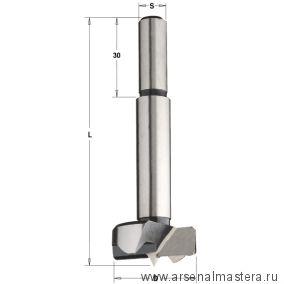 CMT 512.251.31 Сверло чашечное для пробок L90 S10 серия 512, SP 25х90 Z2,2 S10x30 RH