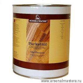 Масло для паркета Borma PARQUET OIL, 10 процентов блеск, 1л