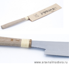Пила безобушковая Juntaro Mitsukawa 170мм продольная (Rip)  Miki Tool М00012363