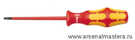 Отвертка диэлектрическая TORX WERA Kraftform Plus 167 i VDE, TX 10