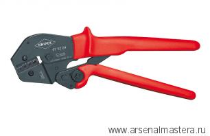 Клещи для опрессовки, также для работы обеими руками KNIPEX 975204